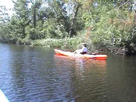 Kayaking Cane Bayou To Lake Pontchartrain 10/18/08
