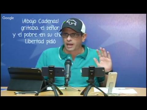 15-10-2017 Henrique Capriles llama a operación remate