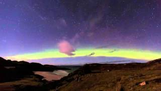 Northern Lights Over Sango Sands by Kingsley Summers