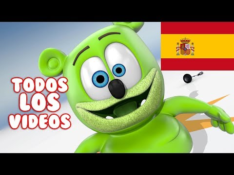 Spanish Gummy Bear Songs TODOS LOS VIDEOS Osito Gominola Song Extravaganza