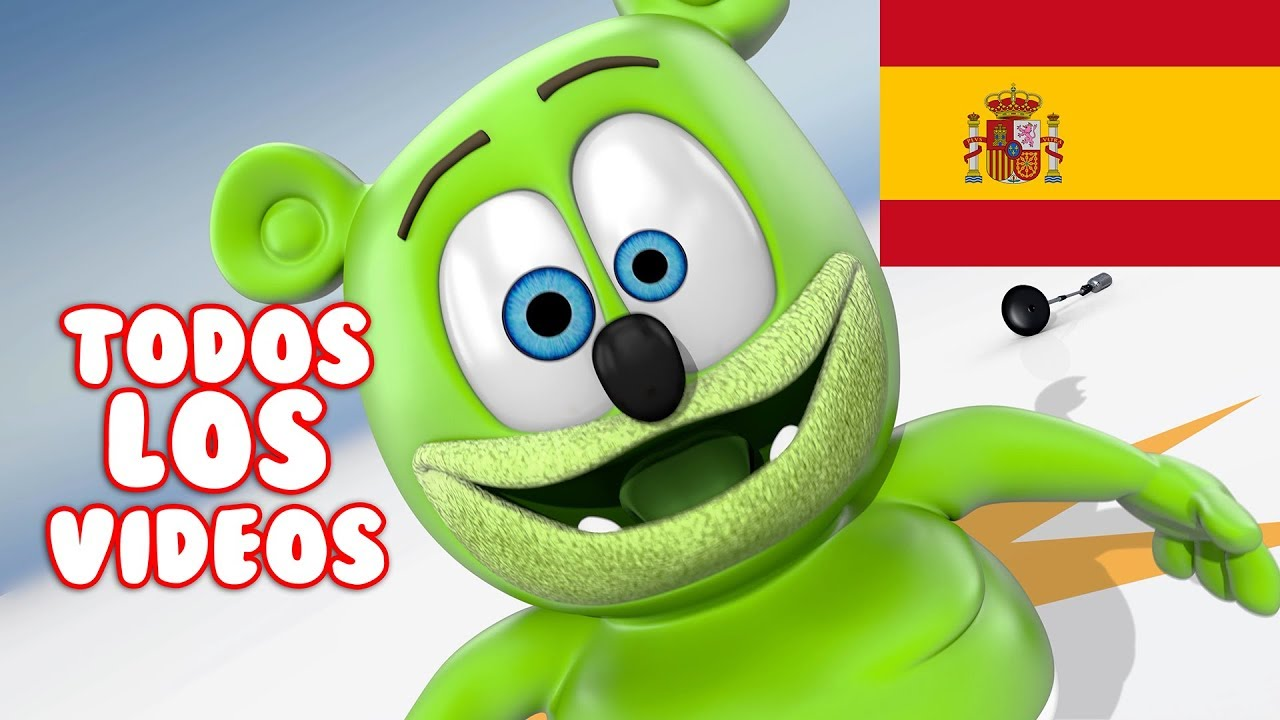 Osito Gominola En El Baño Spanish Gummy Bear Songs Todos Los Videos Osito Gominola Song Extravaganza