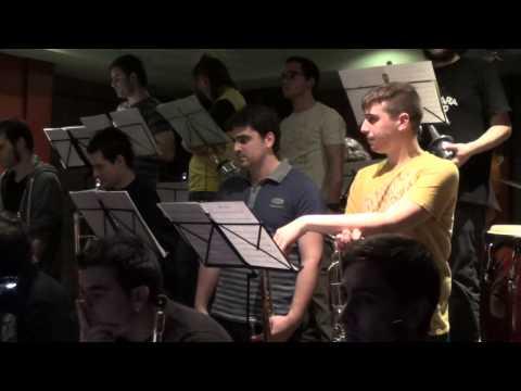Concierto en el Bar Garazi - Big Band CSMN (Pamplona) 09.04.14