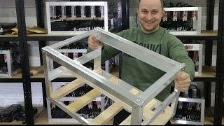 Как сделать каркас фермы для майнинга на 6 видеокартах