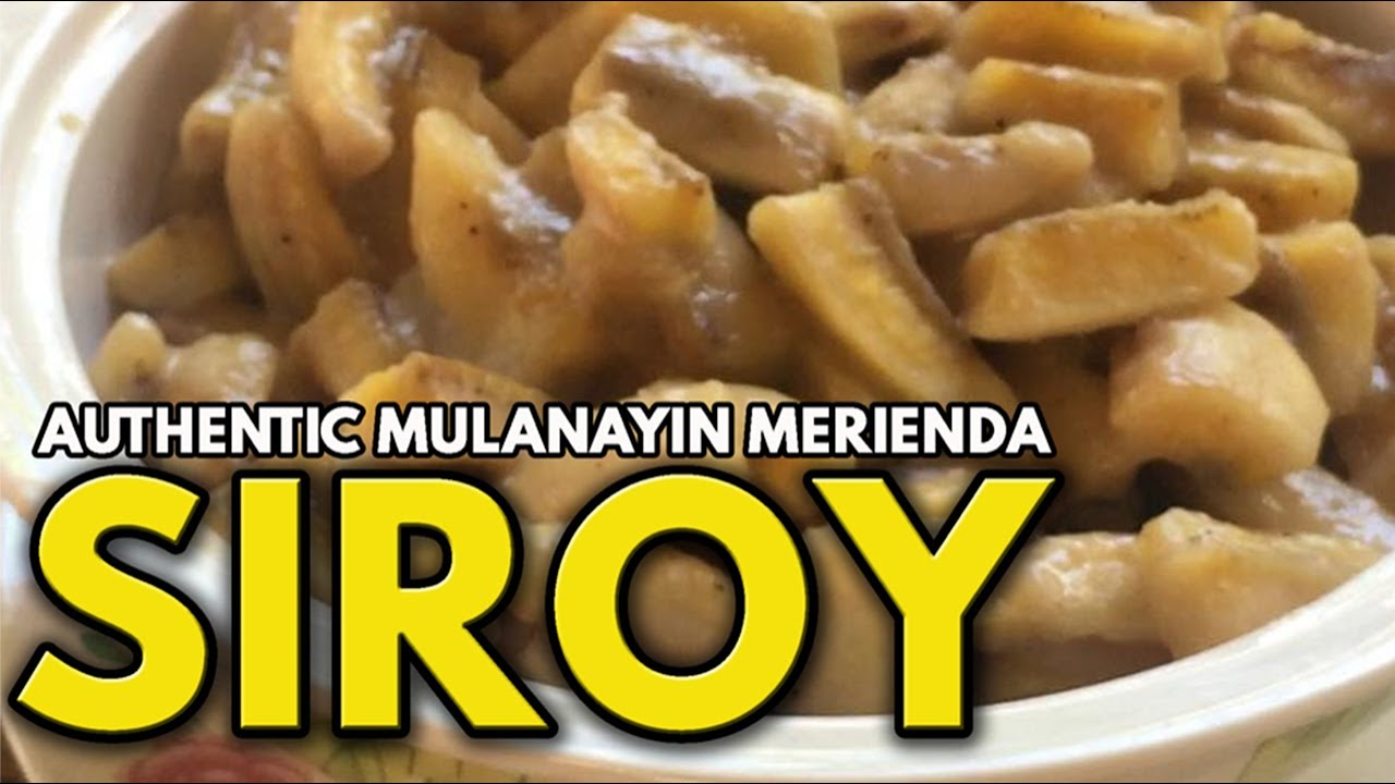 Download HOW TO COOK SIROY (AN AUTHENTIC QUEZONIAN MERIENDA)