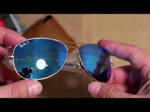 e648990f6 Ray Ban Chromance sunglasses - YouTube