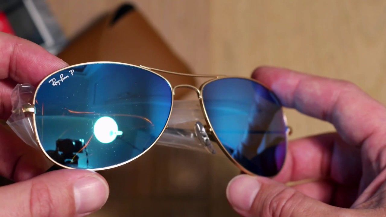 0cc8abef30 Ray Ban Chromance sunglasses - YouTube