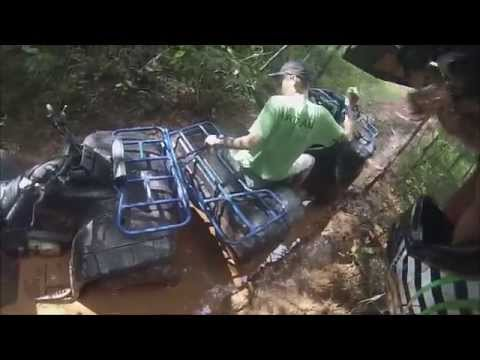 The longest and muddest atv ride!