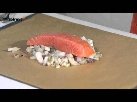 recette-papillote-saumon-fenouil-à-l'italienne---colruyt