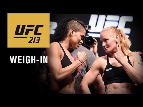 UFC 213:公式計量 | UFC JAPAN