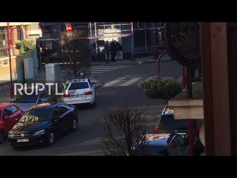 Belgium: Police cordon off area in Brussels after reports of gunman