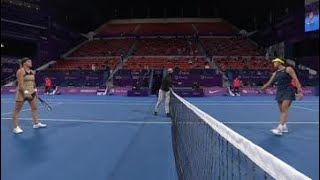 Aryna Sabalenka vs. Garbine Muguruza | 2021 Doha Round 2 | WTA Match Highlights