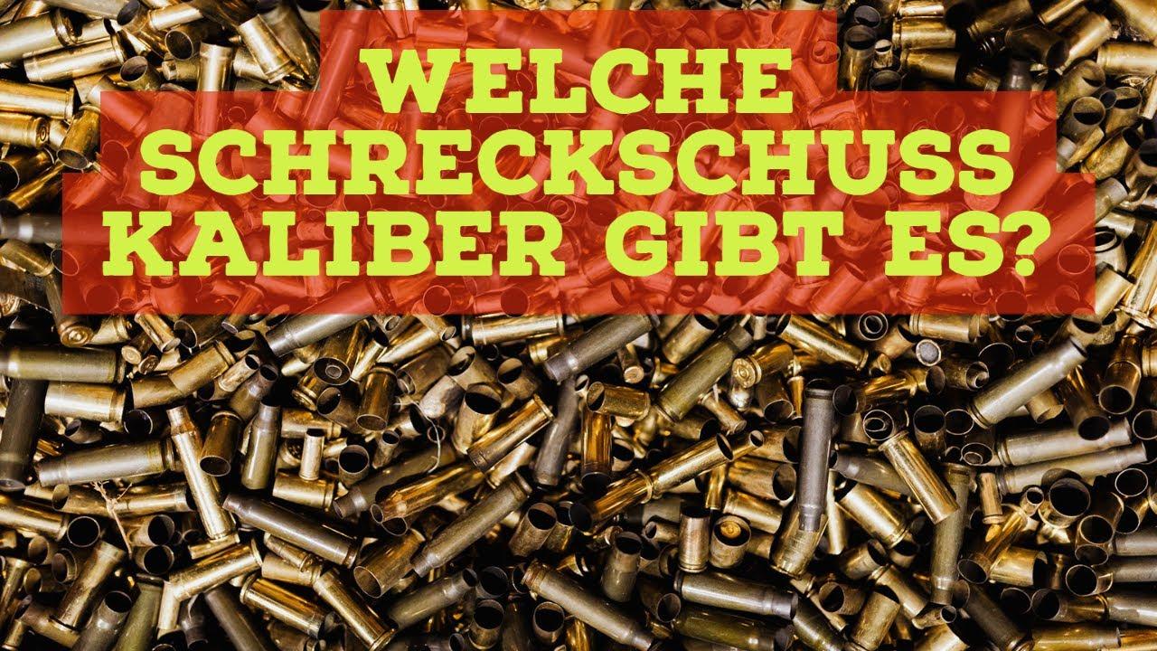 Welche Schreckschuss Kaliber gibt es? 6mm, 8mm, 9mm, .45