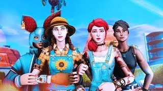 The BEST Girl Squad on Fortnite: Battle Royale...