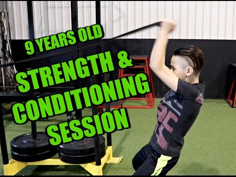 9 Year Old Alex The Prodigy | Fitness & Martial Arts Phenom | Strength & Conditioning Session |