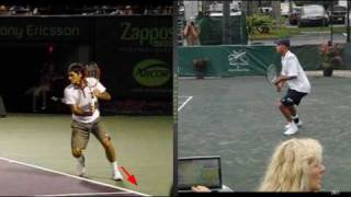 one handed topspin backhand common threadswmv
