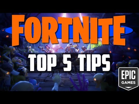 Fortnite Top 5 Tips! | Maximize Your Time | Fortnite Information