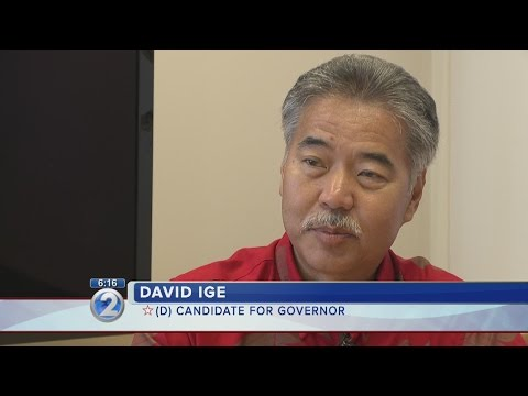 Primary preview: David Ige