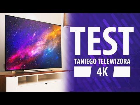 Tani Telewizor do 2500 zł 4K UHD | Toshiba 55U7863DG