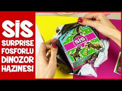 Sis Surprise Oyuncak Fosforlu Dinozoru Buldum Sis Dinozor 3 Dila Kent