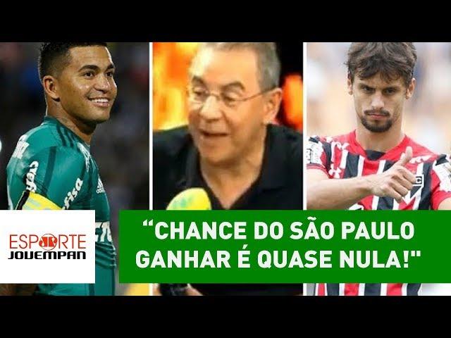 """""""A chance de o São Paulo ganhar do Palmeiras é QUASE NULA!"""""""