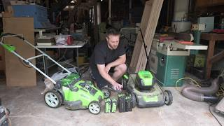 Greenworks 80V Pro Mower Review (in 4k)