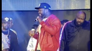 50 Cent Performing Power Theme Song In Clubs Now ????