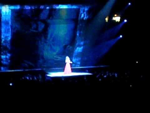 Sarah Brightman at Madison Square Garden Nov 2008