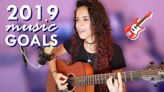 My 5 Music Goals for 2019 | Noelle dos Anjos