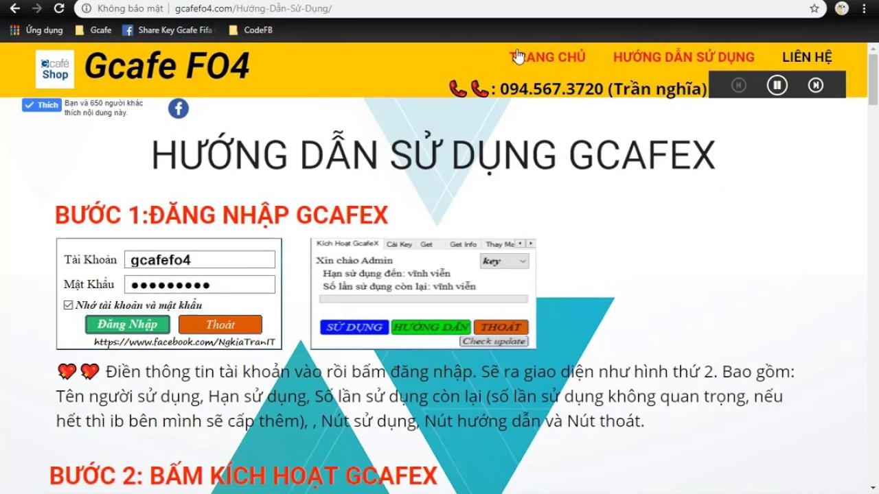 Gcafe FO4 (IRG FO4) Cho Mạng Lan & Wifi (Free 3 ngày dùng thử)