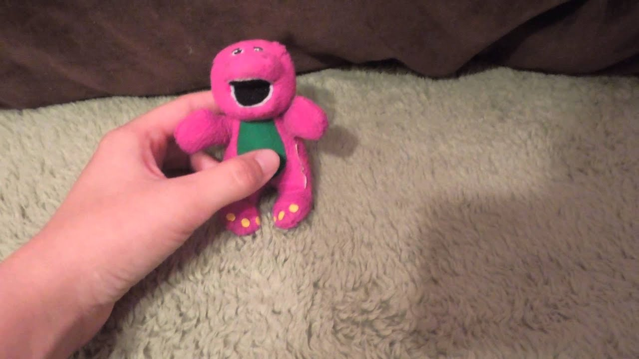 all my barney stuff youtube