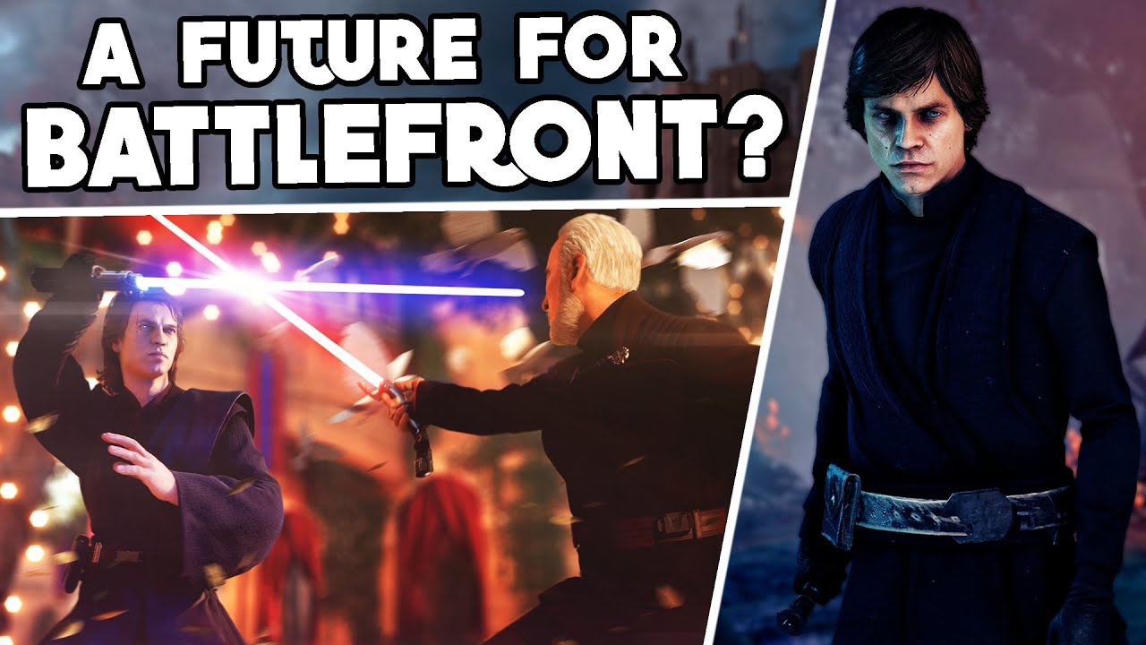 THIS IS SHOCKING: The Future of Battlefront & Other Star Wars Games is Looking… Good?
