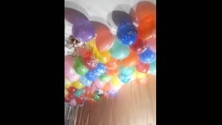 Воздушные шары, оформление шариками