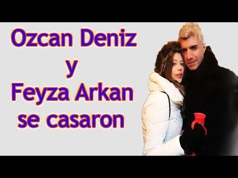 Ozcan Deniz y Feyza Arkan se casaron !!!