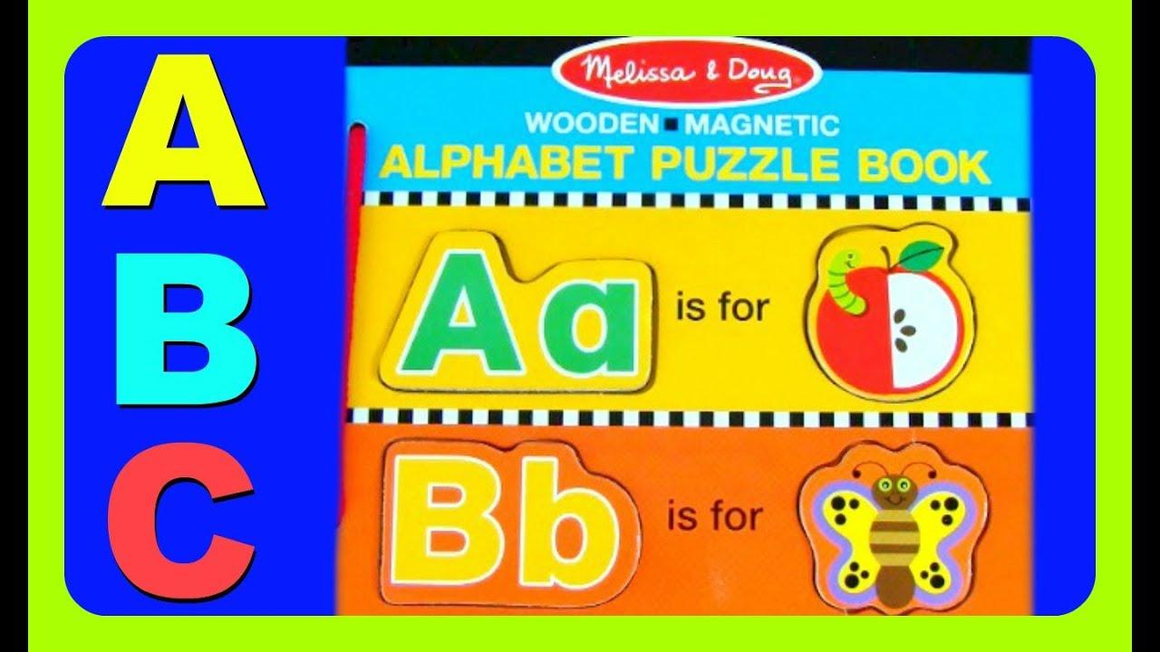 Learn Abc Alphabet Abc Puzzle Book! Fun Abc Alphabet