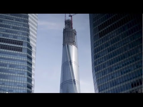 Shanghai Tower Construction Update with Marshall Strabala, Chief Architect, Shanghai Tower.