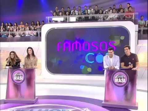 Viviane Araujo, Lizzi Benites, Felipe Folgosi e Maurício Mattar participam do Famosos.Com