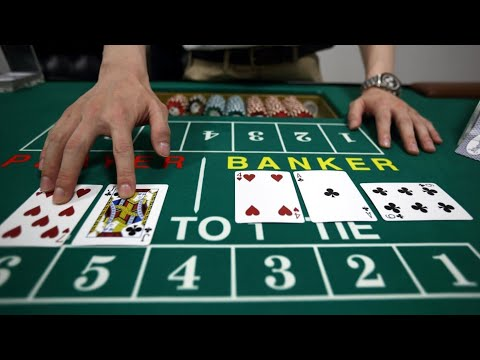BASICS OF BACCARAT - CARDS DRAWN ABC's Of BACCARAT