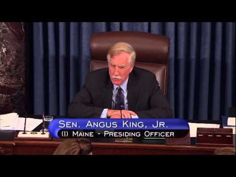 King Thanks Senate Floor Staff for Their Work at Conclusion of 113th Congress