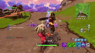 Insane Shopping Cart Glitch OOB?! | Fortnite