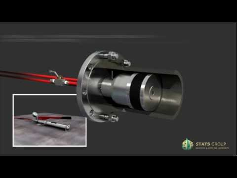 Hydrostatic Test | Flanged Weld Test Tools | Hydraulically Activated