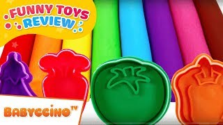 Babyccino Funny Toys Review - Candy Colors With Ice Cream And Funny Squishy Balls With Slime