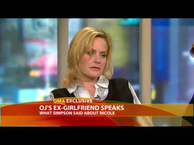 O.J. Simpsons Ex Breaks Her Silence