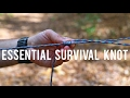 Useful Survival Shelter Knot- Tautline Hitch