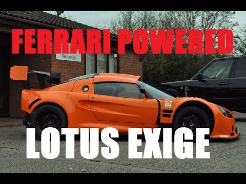 Lotus Exige Ferrari F355 V8 Swap Project