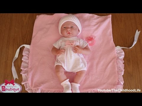 Berenguer Boutique La Newborn 38cm Real Looking Reborn doll and Twins -Looking after Baby Dolls