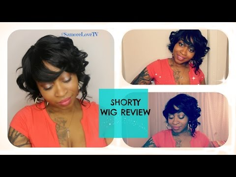 Outre Shorty Wig Review  | Curly Bob With Bangs ♡|  Epic (step by step) Beginner Friendly Tutorial