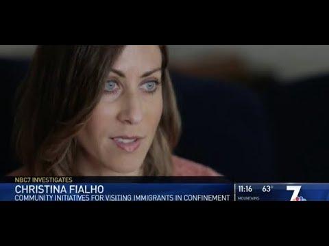 Christina Fialho Speaks with NBC San Diego