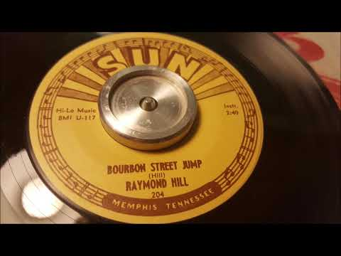Raymond Hill - Bourbon Street Jump - 1954 Jazz - SUN 204