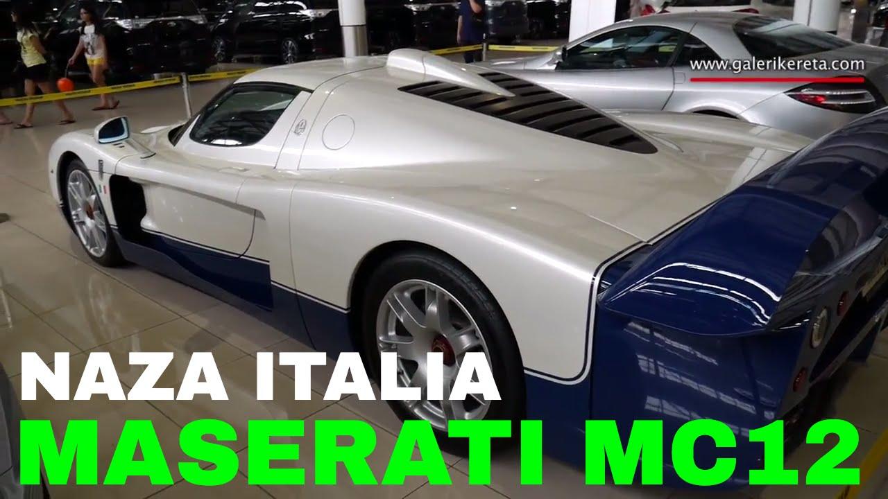 Legendary Maserati MC12 Naza Italia   Galeri Kereta - YouTube