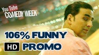 Akshay Kumar 106% Funny Promo   BOSS is coming on 16th October